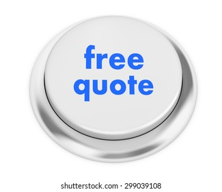 free quote button on isolate white background