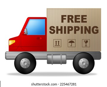 Free Shipping Representing Post Postage And Moving