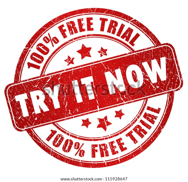Free trial stamp