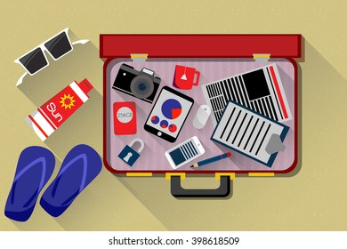Freelance suitcase