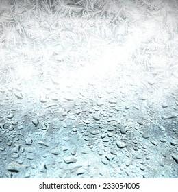 freeze background,melt away