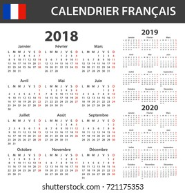 Calendrier 2019 Vectoriel.Images Photos Et Images Vectorielles De Stock De Calendrier