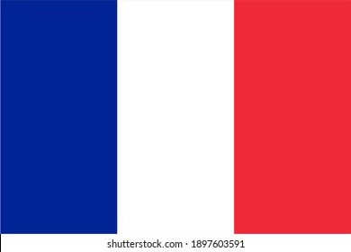 French Guiana flag official proportions flat