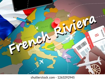 Map Of France French Riviera.French Riviera Map Images Stock Photos Vectors Shutterstock