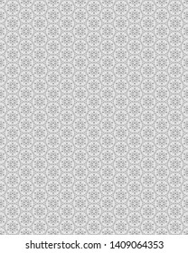 Fresh geometric design muted color