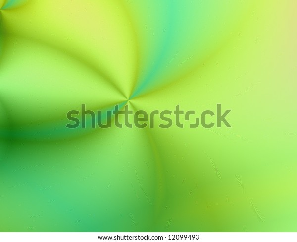 Fresh yellow, green and blue abstract background