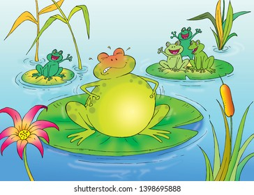 the frog and the ox story