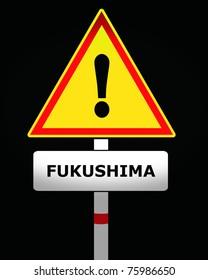 fukushima warning sign