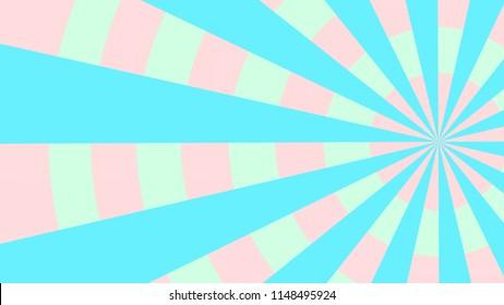 fun colorful retro comic book superhero lines burst pattern with circles radial pattern illustration background design