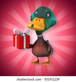 Ente Weihnachten.Weihnachten Ente Stock Illustrations Images Vectors
