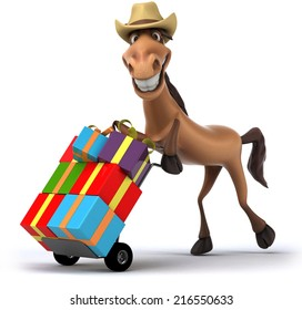 Birthday Horse Images Stock Photos Vectors
