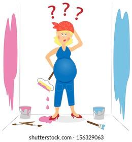 Pregnant Cartoon Images Stock Photos Vectors Shutterstock
