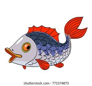 Fish Cartoon Drawing Images Stock Photos Vectors Shutterstock