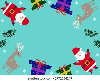 Funny Merry Christmas Illustration Image