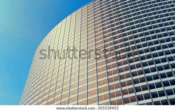 Future Architecture Futuristic Building Modern Building Stock ...