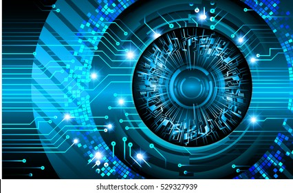 future technology, blue cyber security concept background, abstract hi speed digital internet.motion move speed blur. pixel.