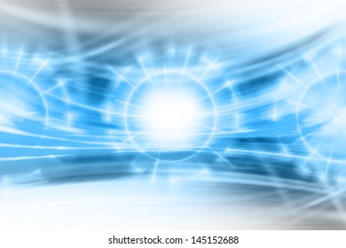 Futuristic Abstract Background,Alien Power