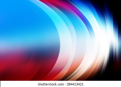 Futuristic Background,Abstract Curves Colorful Background