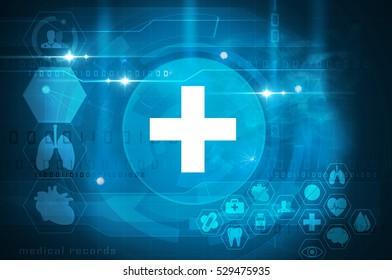 futuristic healthcare interface