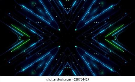 Futuristic lights