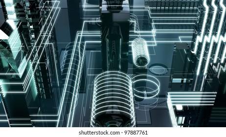 futuristic megalopolis2