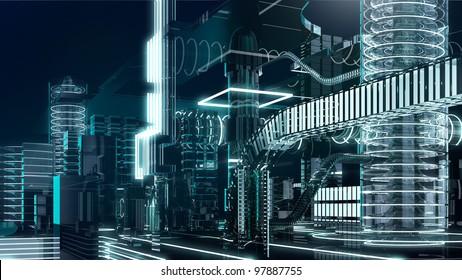 futuristic megalopolis4