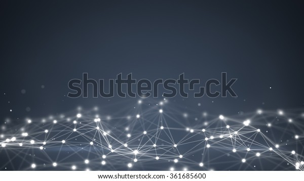 futuristic shape. Computer generated abstract background