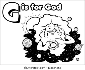 G is for God Coloring Activity