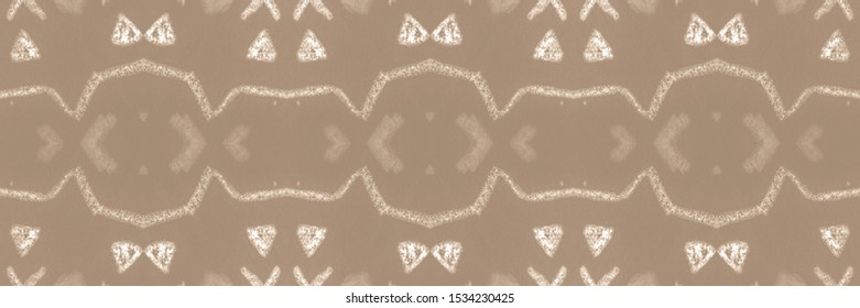Gala Beige, Gray On Old Paper. Watercolor Abstract Wallpaper Seamless. Watercolor Shades. Abstract Spanish Stylized Backdrop. Herringbone Watercolor. Creative Style.