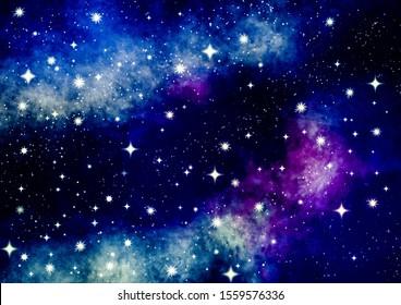 galaxy background illustration stars stardust 260nw 1559576336
