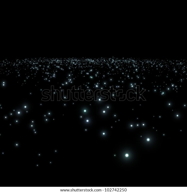galaxy with stars in a black background / galaxy