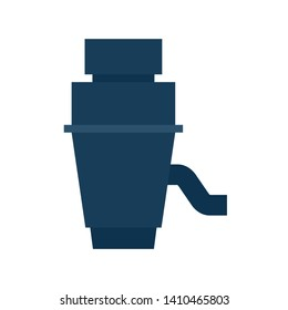 Garbage Disposal icon. Plumbing clipart isolated on white background