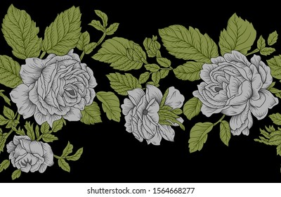 Garden roses are predominantly hybrid roses that are grown as ornamental plants in private or public gardens.