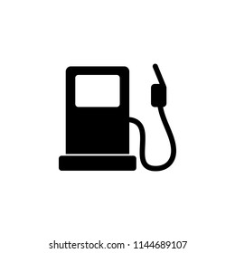 gas station outline icon. Simple illustration for UI and UX, website or mobile application on white background