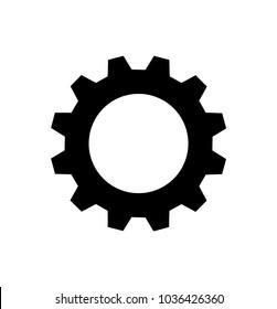 gear on white background