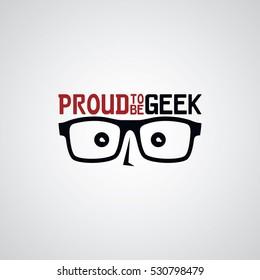 049233b4dd geek nerd geeky guy cartoon logo logotype