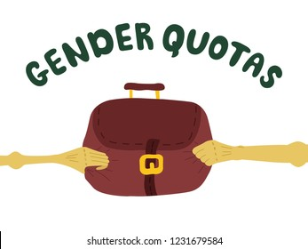 Gender quotas in politics.