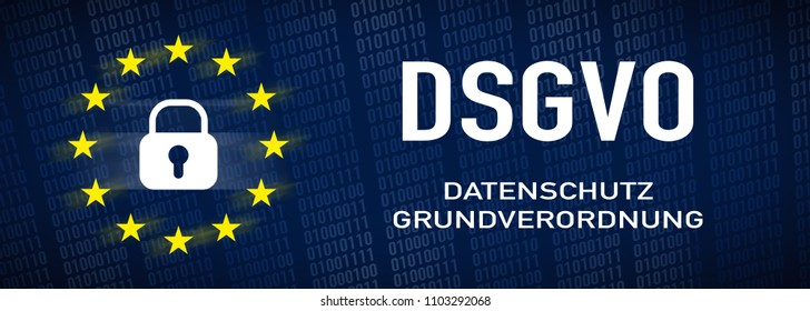 General Data Protection Regulation, GDPR - german text: Datenschutz-Gundverordnung