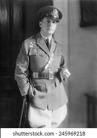 General Douglas MacArthur. During WWI he was promoted from major to colonel in 1917. In U.S. fighting on the Western Front he rose to the rank of brigadier general.