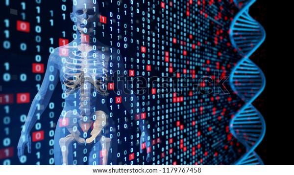 Genetic Engineering Concept Stock Illustration 1179767458