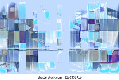 geometric abtract pattern