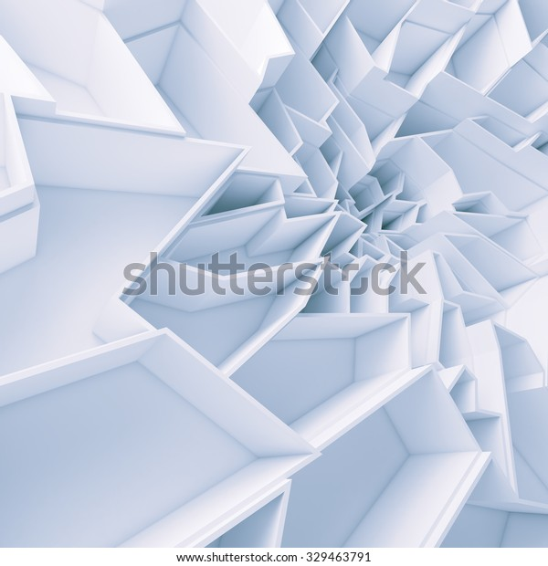 Geometric Color Abstract Polygons Wallpaper Crack Stock