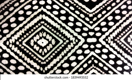 Geometric Dye. Bright and Dark Triangles. Watercolor Grunge Texture. Bohemian Shawl Endless. Colorful Rectangular Dashiki. Lovely Borderless Picture. Charcoal Tones.