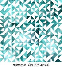 Geometric Foil Seamless Pattern
