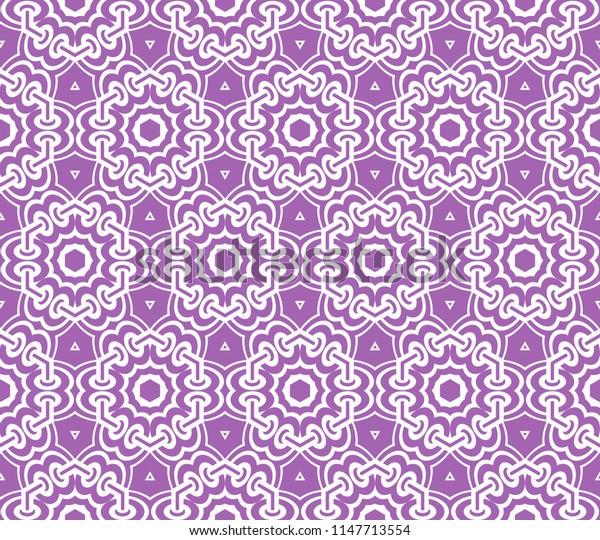 geometric modern seamless fashion pattern. original   illustration.
