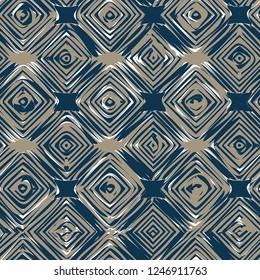 geometric ogee seamless pattern