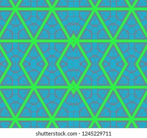 geometric ornament. Abstract   fractal. Background image