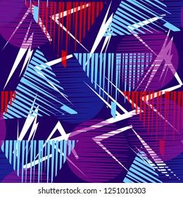 Geometric pattern color asbtract geometri patch backraund