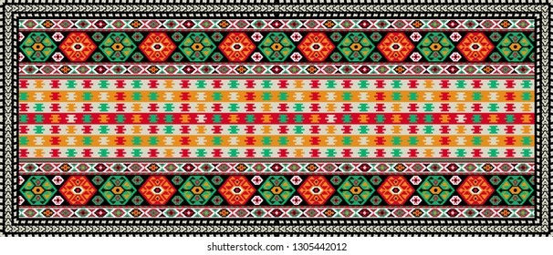 geometric pattern design for textile and digital print