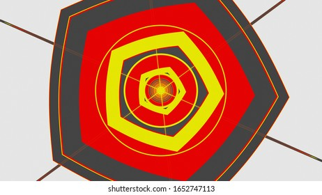 Geometric Pattern Image Lines Circle Color Beautiful for Printing and Web design
